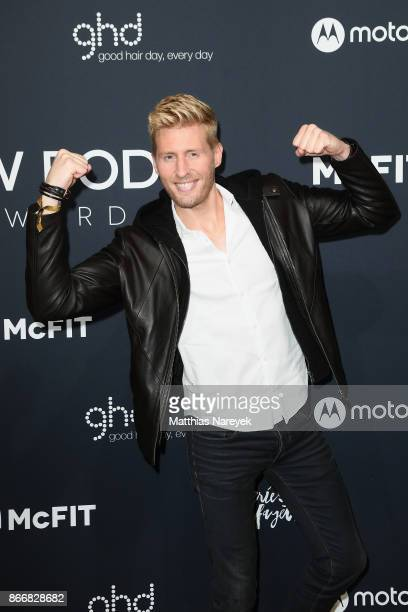 Maxi Arland attends the New Body Award By McFit Models on October 26 2017 in Berlin Germany