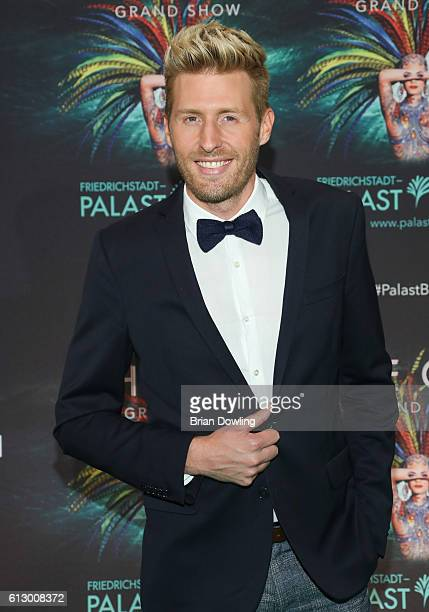Maxi Arland attends 'THE ONE Grand Show' premiere at FriedrichstadtPalast on October 6 2016 in Berlin Germany