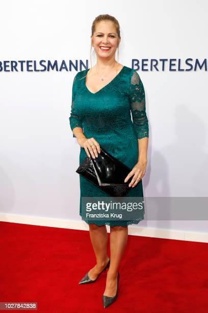 Maxi Biewer attends the Bertelsmann Summer Party at Bertelsmann Repraesentanz on September 6 2018 in Berlin Germany