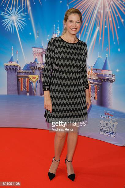 Maxi Biewer attends the premiere of 'Disney on Ice - 100 Jahre voller Zauber' at Lanxess Arena on November 4, 2016 in Cologne, Germany.