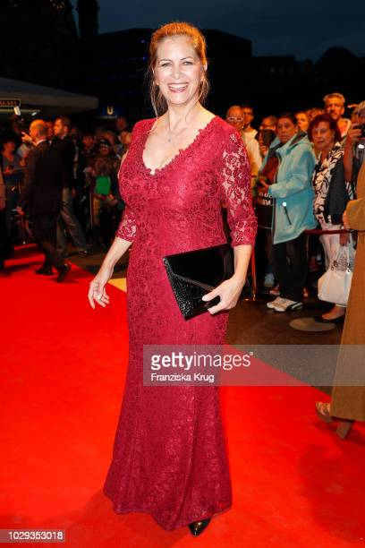 Maxi Biewer during the 100th birthday celebration gala for Artur Brauner at Zoo Palast on September 8 2018 in Berlin Germany Artur Brauner is a...