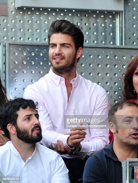 Maxi Iglesias attends Mutua Madrid Open tennis at La Caja Magica on May 14 2017 in Madrid Spain