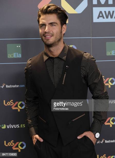 Maxi Iglesias attends the 40 Principales Awards Nominated Dinner at the Florida Retiro on September 14 2017 in Madrid Spain
