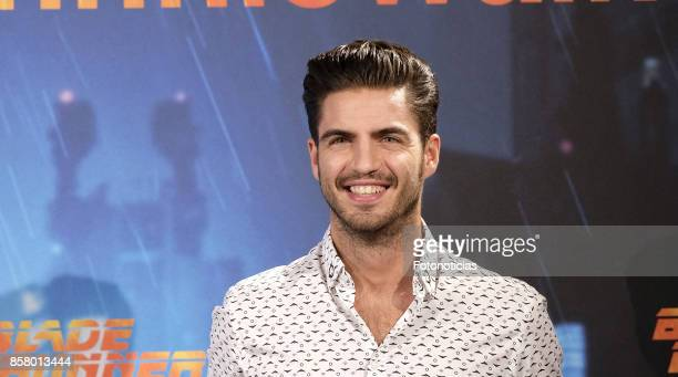 Maxi Iglesias attends the 'Blade Runner 2049' premiere at the Callao City Lights cinema on October 5 2017 in Madrid Spain