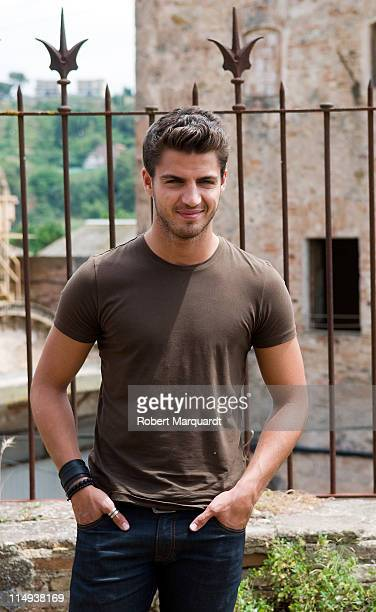 Maxi Iglesias on the set of 'XP3D' on May 30 2011 in Barcelona Spain