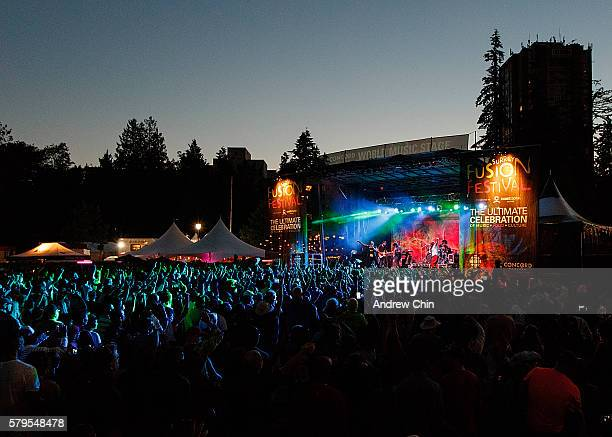 Maxi Priest performs onstage during Surrey Fusion Festival at Holland Park on July 23 2016 in Surrey Canada