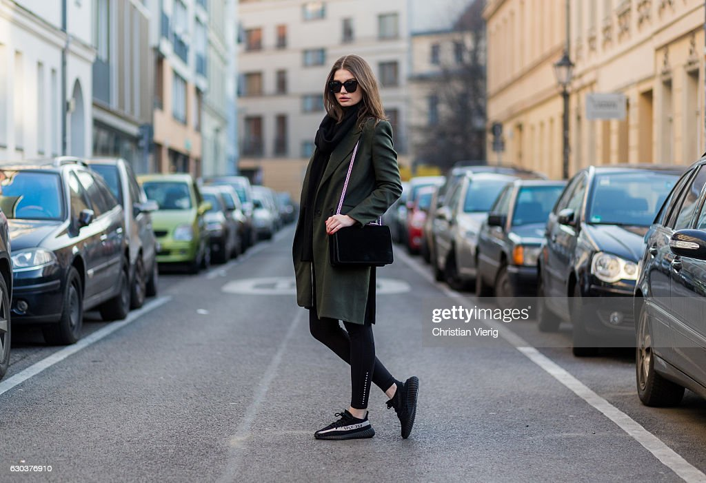 Street Style In Berlin - December 2016