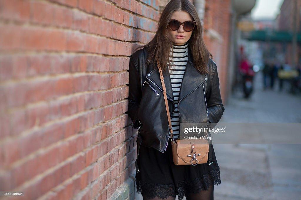 Street Style In Berlin - November 27, 2015