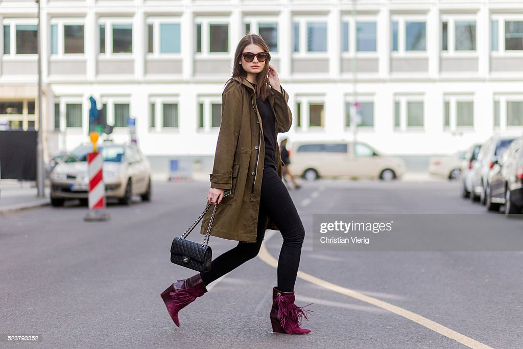 Street Style In Berlin - April, 2016