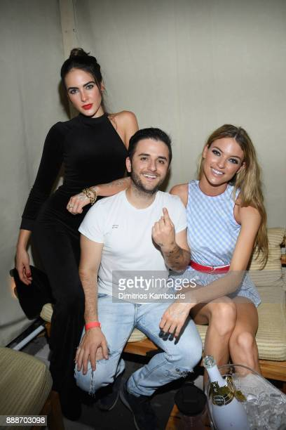 Maxim cover model Martha Hunt and guests attend the Maxim December Miami Issue Party Presented by blu on December 8 2017 in Miami Beach Florida