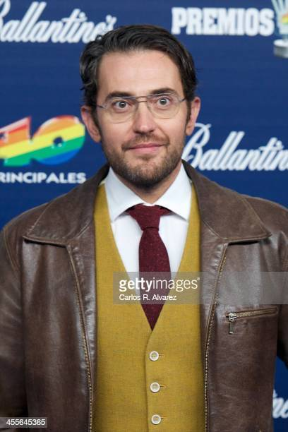 Maxim Huerta attends the '40 Principales Awards' 2013 photocall at Palacio de los Deportes on December 12 2013 in Madrid Spain