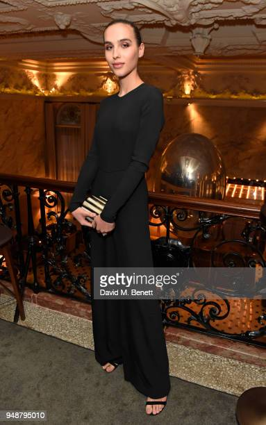 Maxim Magnus attends the Eco Age Earth Day party at The London EDITION on April 19 2018 in London England