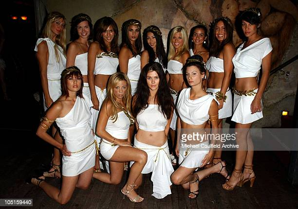 Maxim Toga Girls during Maxim SoBe Double Secret Probation Party at Club AD in West Hollywood California United States