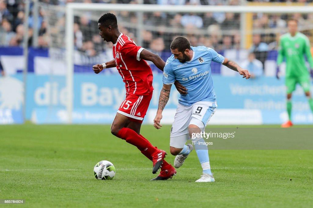 TSV 1860 Muenchen v Bayern Muenchen II - Regionalliga Bayern : Nachrichtenfoto