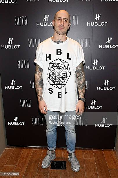 Maxime Buchi attends Hublot Cocktail Reception with Artist Flore at Miami Design District on December 2 2016 in Miami Florida