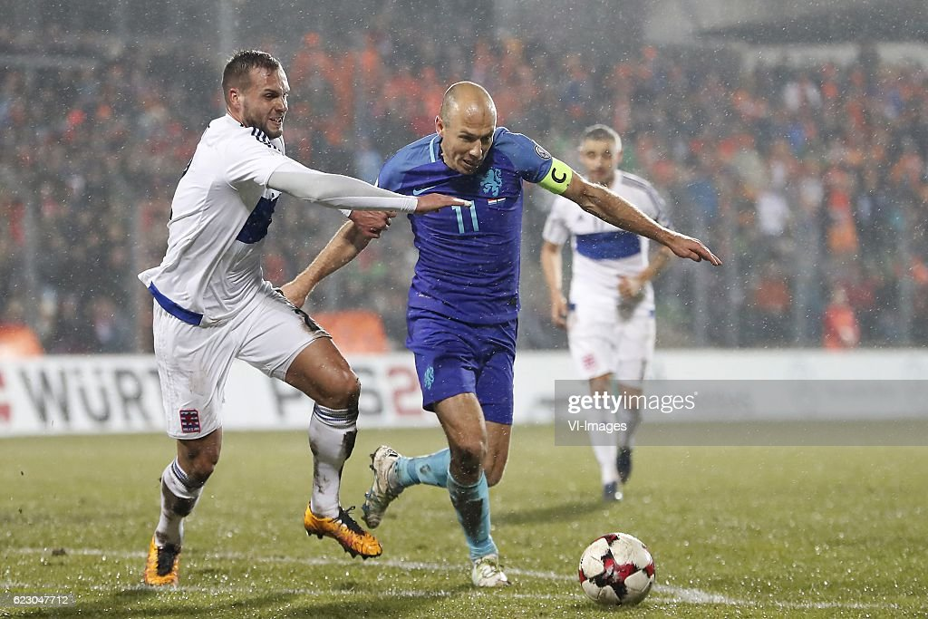 FIFA World Cup 2018 qualifying group A'Luxembourg v Netherlands' : News Photo