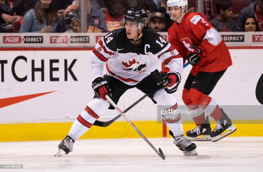 Switzerland v Canada - 2019 IIHF World Junior Championship : News Photo