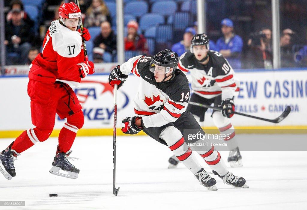 Denmark v Canada - 2018 IIHF World Junior Championship