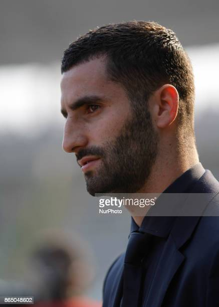 Maxime Gonalons during Serie A match between Torino v Roma in Turin on October 22 2017