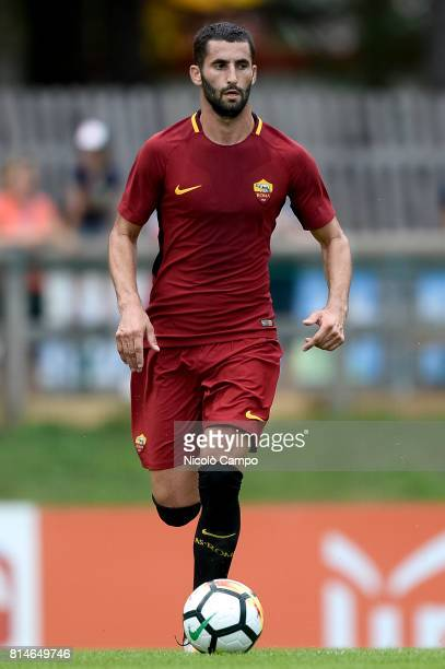 PINETA PINZOLO TRENTO ITALY Maxime Gonalons of AS Roma in action during the preseason friendly football match between AS Roma and FC Slovacko AS Roma...