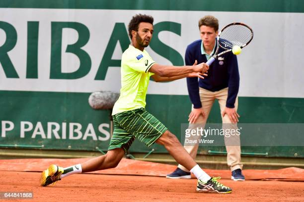 Maxime HAMOU Jour 3 Roland Garros 2015 Photo Dave Winter / Icon Sport