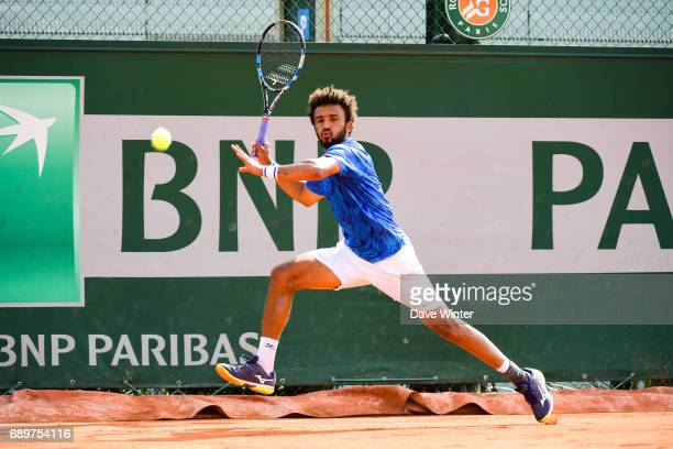 Maxime Hamou during first round on day 2 of the French Open at Roland Garros on May 29 2017 in Paris France
