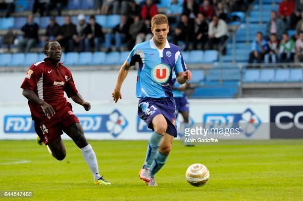 Maxime LE MARCHAND - - Le Havre / Metz - Coupe de la Ligue 2011/2012, Photo : Alain Gadoffre / Regamedia / Icon Sport