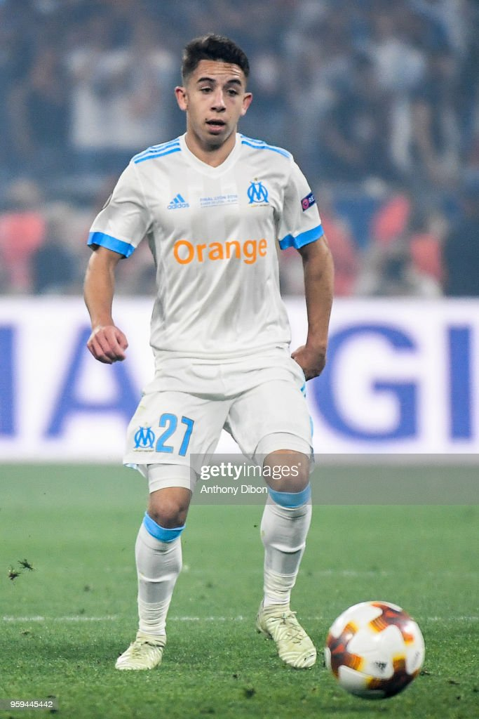 Maxime Lopez of Marseille during the Europa League Final match between Marseille and Atletico Madrid at Groupama Stadium on May 16, 2018 in Lyon, France.