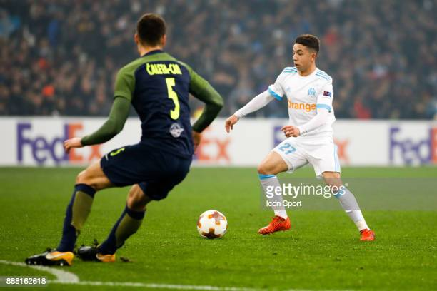 Maxime Lopez of Marseille during the Uefa Europa League match between Olympique de Marseille and Red Bull Salzburg at Stade Velodrome on December 7...