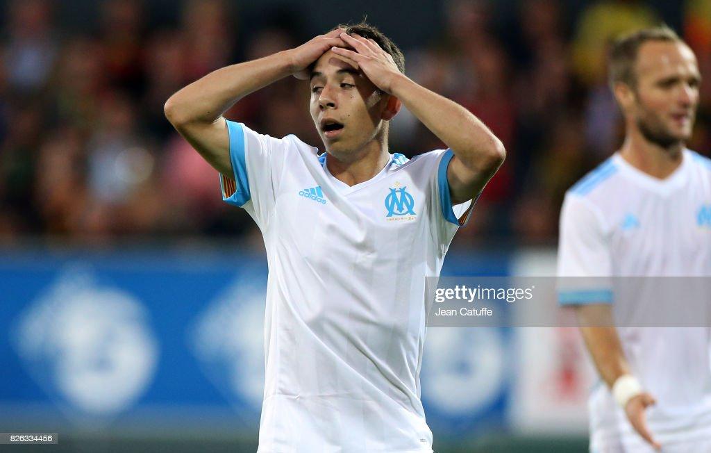 Oostende v Olympique de Marseille - UEFA Europa League Third Qualifying Round: Second Leg : Photo d'actualité