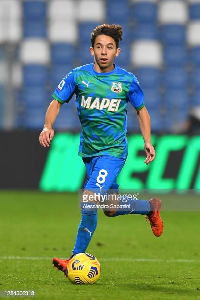 Maxime Lopez of US Sassuolo in action during the Serie A match between US Sassuolo and Udinese Calcio at Mapei Stadium - Città del Tricolore on...