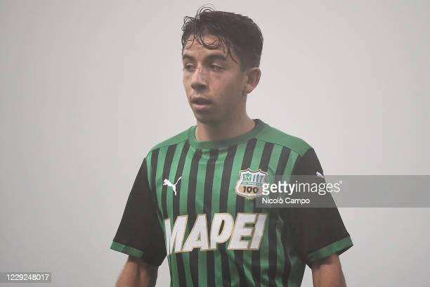 Maxime Lopez of US Sassuolo looks on during the Serie A football match between US Sassuolo and Torino FC The match ended 33 tie