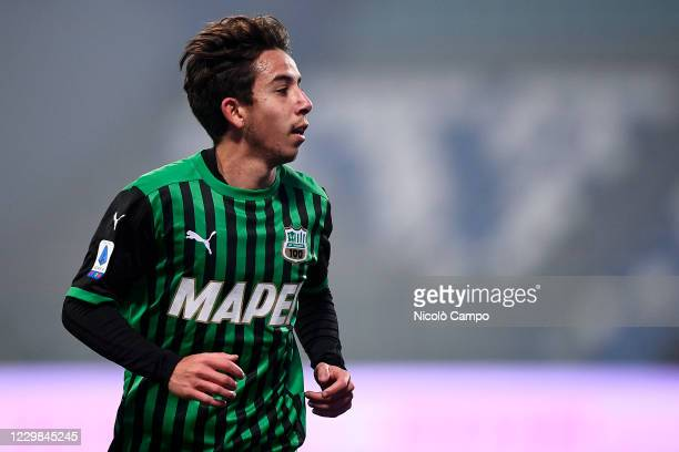 Maxime Lopez of US Sassuolo looks on during the Serie A football match between US Sassuolo and FC Internazionale. FC Internazionale won 3-0 over US...