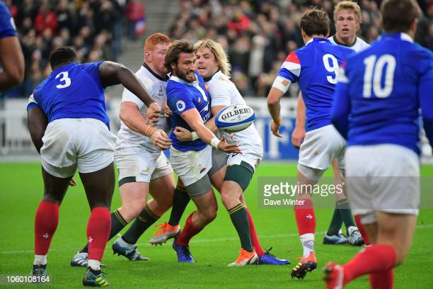 Maxime Medard of France during the Test match between France and South Africa on November 10 2018 in Paris France