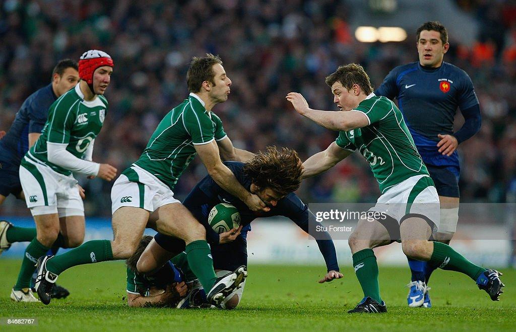 Ireland v France - RBS 6 Nations : News Photo