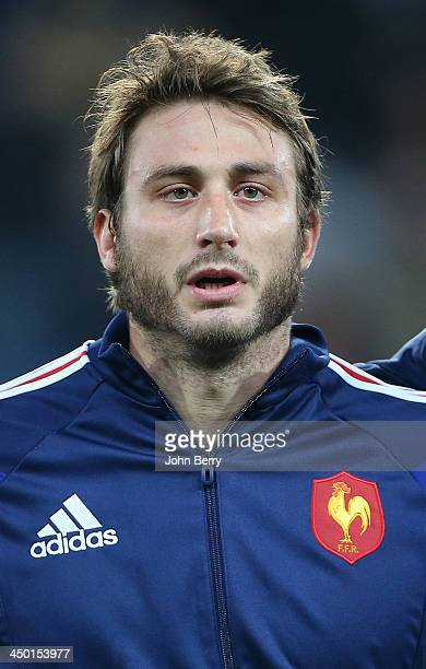 Maxime Medard of France poses during the international match between France and Tonga at the Oceane Stadium on November 16 2013 in Le Havre France