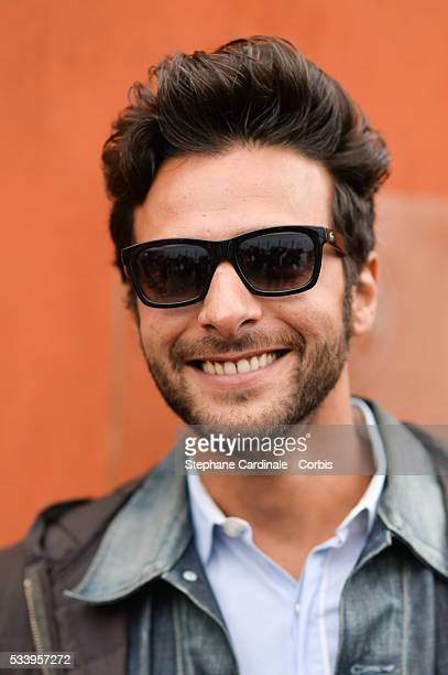 Maxime Nucci attend the 2016 French tennis Open day 3 at Roland Garros on May 24 2016 in Paris France