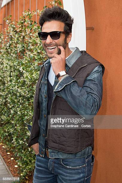 Maxime Nucci attends the 2016 French tennis Open day 3 at Roland Garros on May 24 2016 in Paris France
