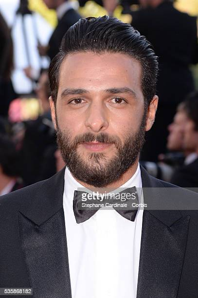 Maxime Nucci attends the 'Blood Ties' premiere during the 66th Cannes International Film Festival