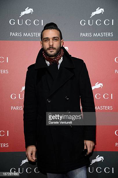 Maxime Nucci attends the Gucci Paris Masters 2012 at Paris Nord Villepinte on December 1 2012 in Paris France