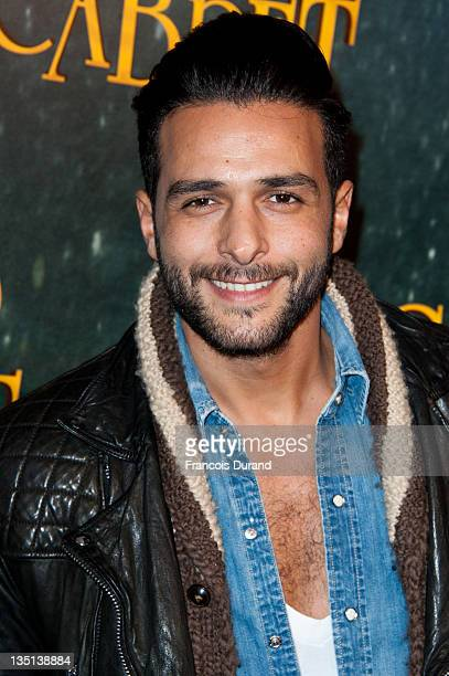 Maxime Nucci attends the 'Hugo Cabret 3D' premiere at Cinema UGC Normandie on December 6 2011 in Paris France