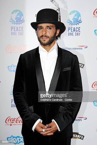 Maxime Nucci attends the Peace One Day Celebration 2010 held at the Zenith in Paris
