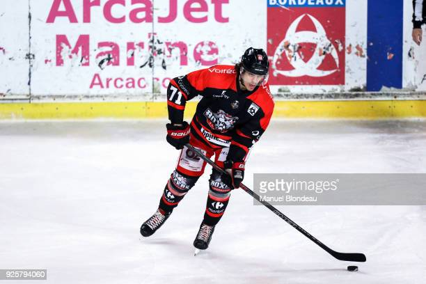 Maxime Sauve of Bordeaux during the Magnus League Playoff match between Bordeaux and Gap on February 28 2018 in Bordeaux France