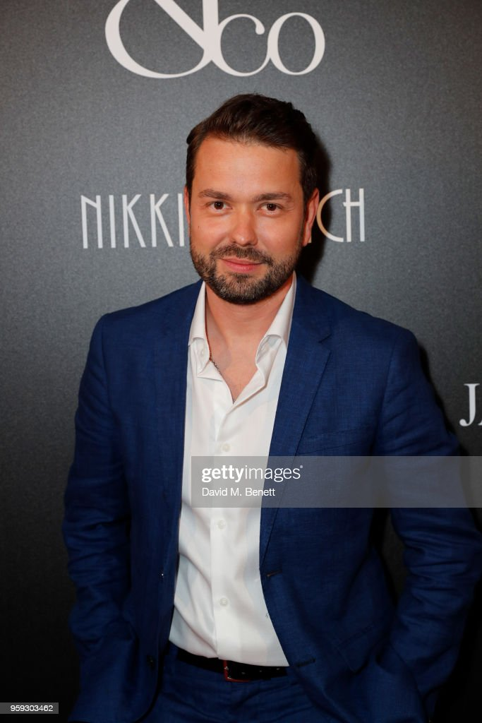 Maxime Shapozhnikov attends the Jacob & Co Cannes 2018 party at Nikki Beach on May 16, 2018 in Cannes, France.
