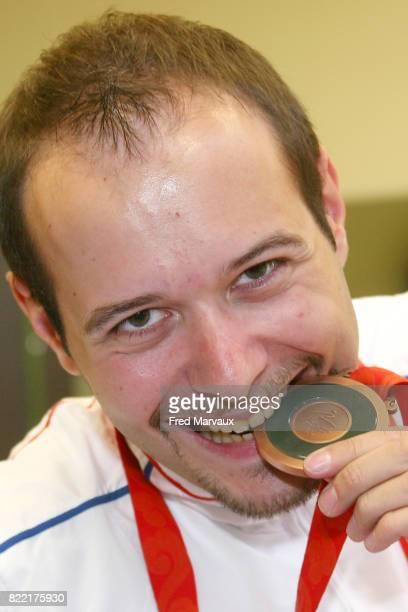 Maxime THOMAS medaille de bronze aux Jeux Paralympiques de Pekin 2008 Tennis de Table Pont a Mousson