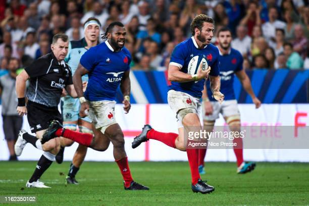Maximed Medard of France during the test match between France and Scotland on August 17 2019 in Nice France