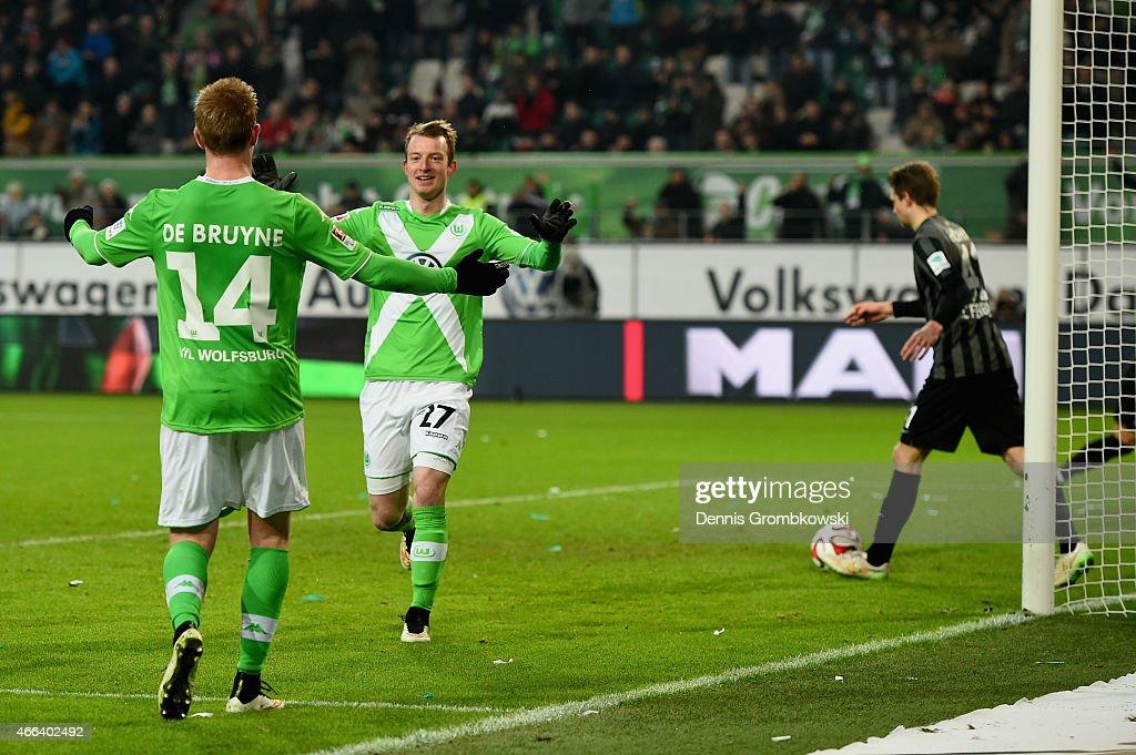 VfL Wolfsburg v SC Freiburg - Bundesliga : News Photo
