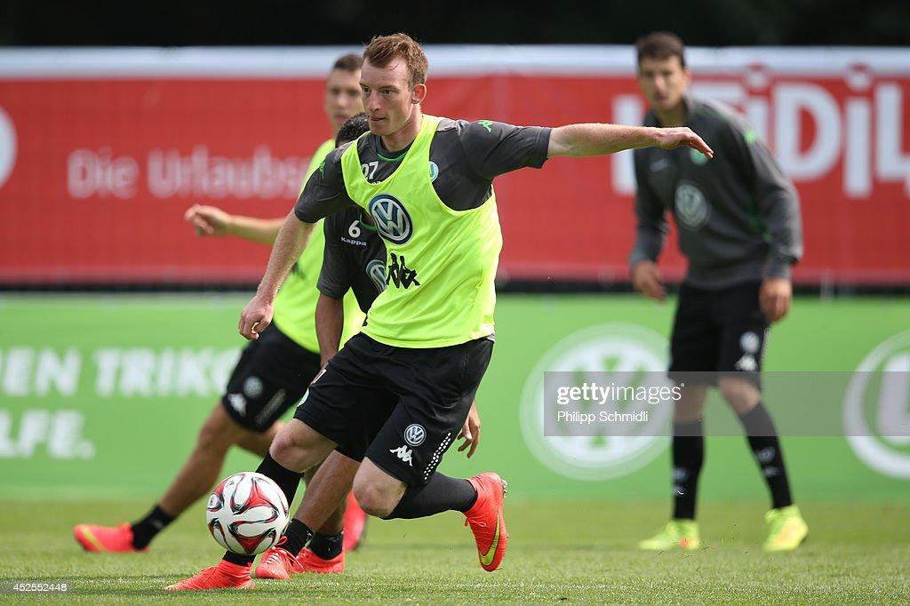 VfL Wolfsburg - Bad Ragaz Training Camp : News Photo