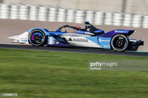 Maximilian , BMW i Andretti Motorsport, BMW iFE.21, action during the ABB Formula E Championship official pre-season test at Circuit Ricardo Tormo in...