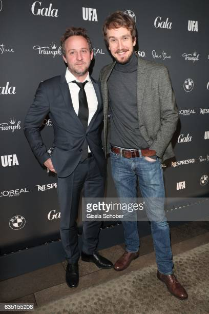 Maximilian Brueckner and Jan Krauter during the Berlin Opening Night by GALA and UFA Fiction at hotel 'The Stue' on February 9 2017 in Berlin Germany